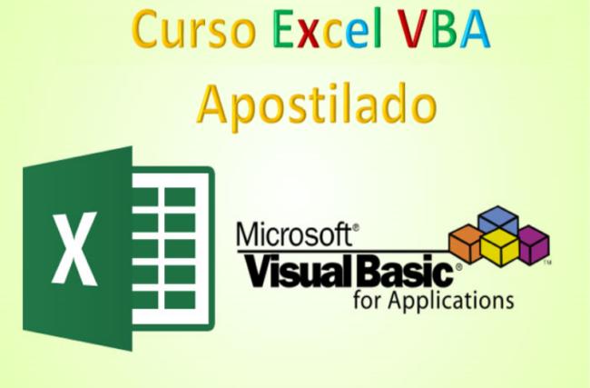 Curso Excel VBA Apostilado no Excel