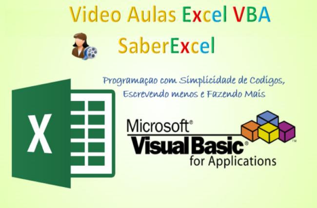 500 Video Aulas Excel VBA Saber Excel