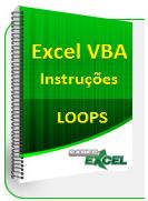 Instrução Loop Excel VBA planihas