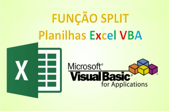 Split Funcao Excel VBA exemplo